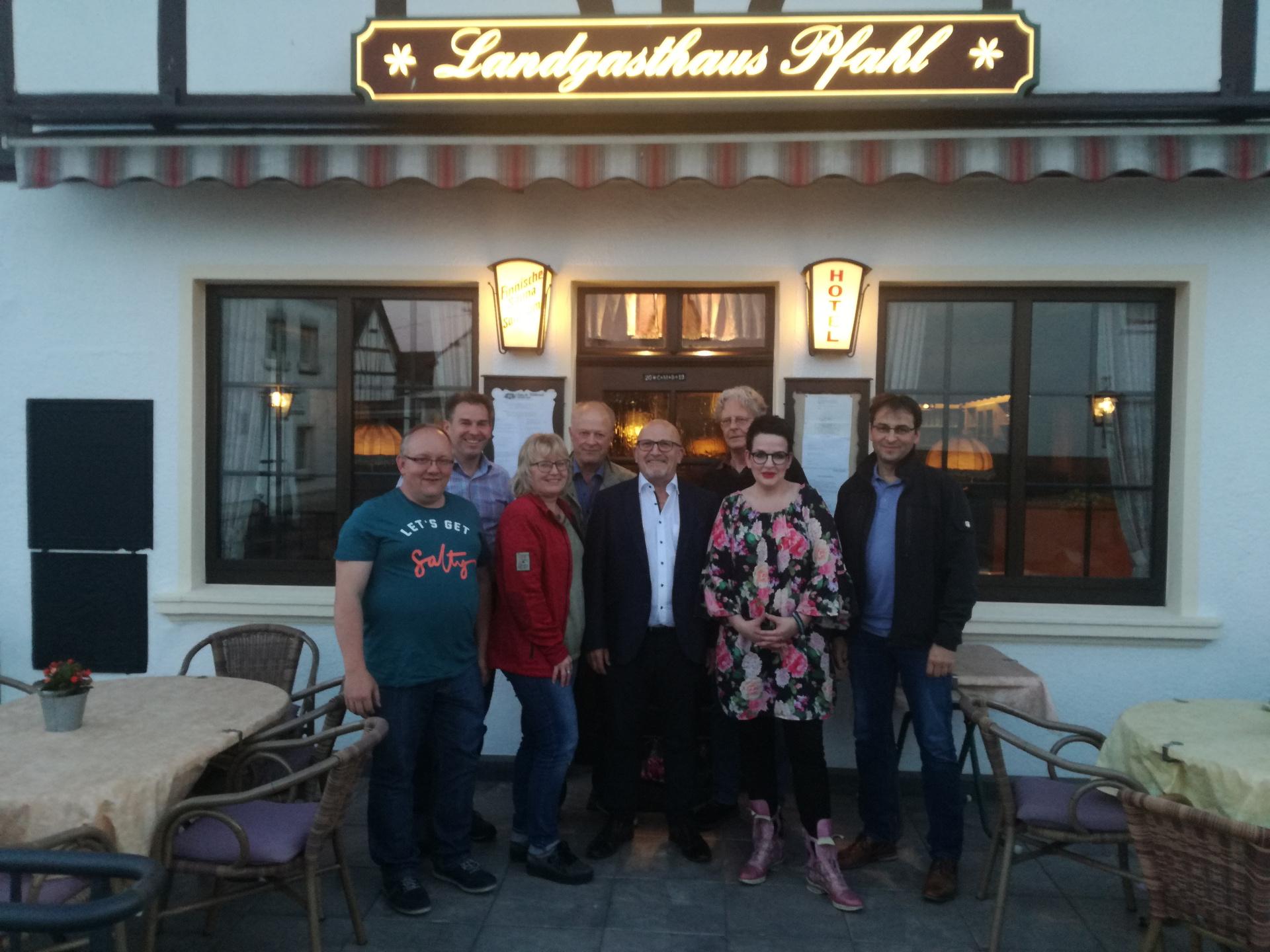 FWG Adenau Mandatsträger Verbandsgemeinderat 2019